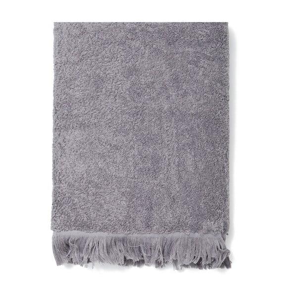 Komplet 4 szarych ręczników bawełnianych Casa Di Bassi Bath, 50x90 cm