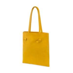 Damska torba skórzana Woox Simplex Lutea