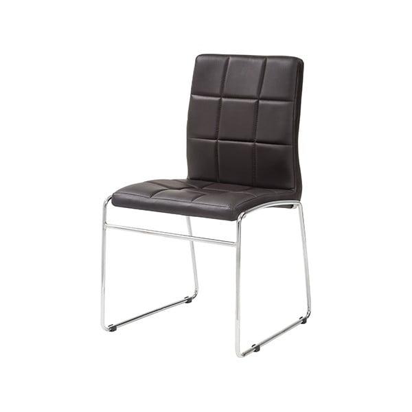 Krzesło Kid, ciemnobrązowe