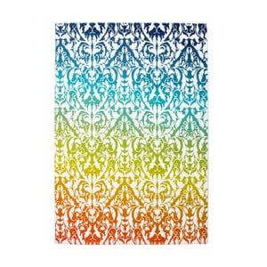 Dywan Aztec 492 biały/zielony, 120x 170 cm