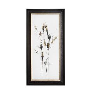 Obraz w metalizowanej ramie Graham & Brown Seed Head,35x70cm