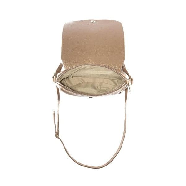Beżowa   torebka skórzana Renata Corsi Ariela