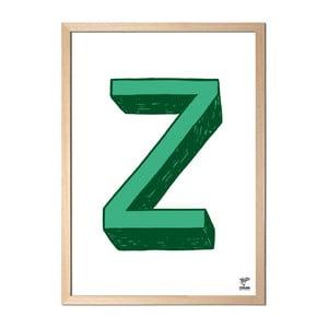 Plakat Z designed by Karolina Stryková