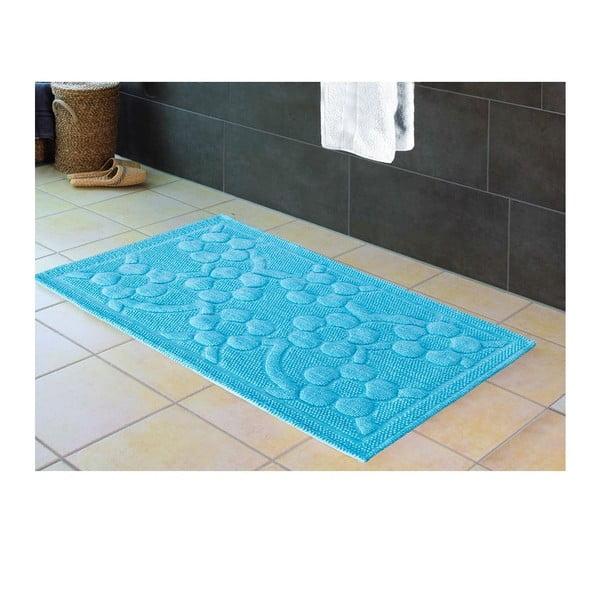 Mata łazienkowa Papatya Turquoise, 60x100 cm