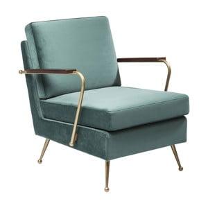 Zielony fotel Kare Design Gamble