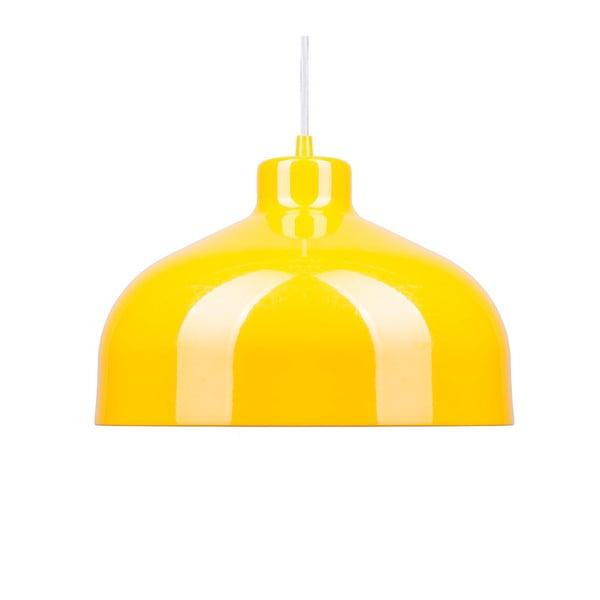 Żółta lampa wisząca Loft You B&B, 33 cm