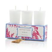 Zestaw 6 świeczek Lis Blanc, 12-15h palenia