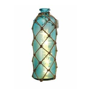 Szklany wazon/butelka z motywem gwiazd Dino Bianchi, wysokość 32cm