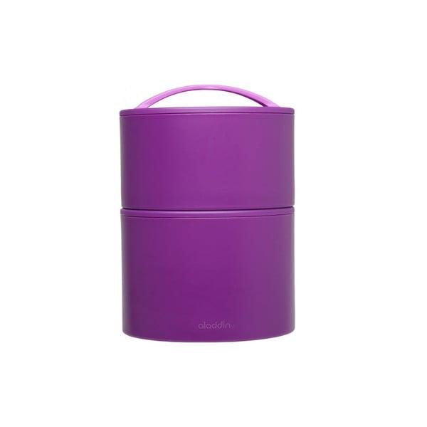 Pojemnik termiczny na obiad Bento 0.95 l, fioletowy