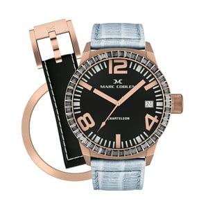 Zegarek damski Marc Coblen z dodatkowym paskiem i obręczą P85