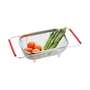 Sitko do zlewu Premier Housewares Red Mesh