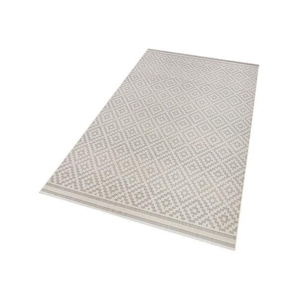Szary dywan nadający się na zewnątrz Hanse Home Karo, 140 x 200 cm