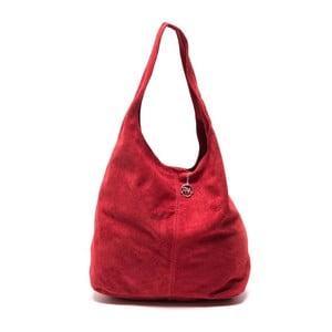 Czerwona torebka skórzana Roberta M 885 Rosso