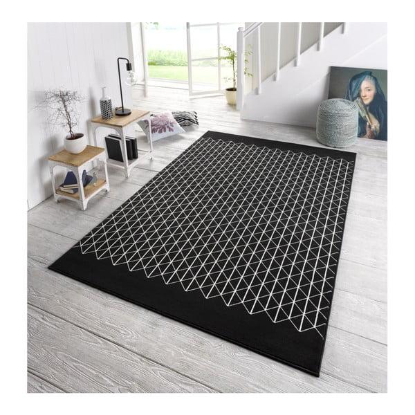 Czarny dywan Hanse Home Twist, 70x140 cm
