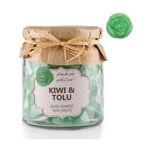Zestaw 18 małych świeczek zapachowych Kiwi and Tolu