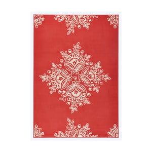 Czerwony dywan Hanse Home Gloria Blossom, 80x150 cm