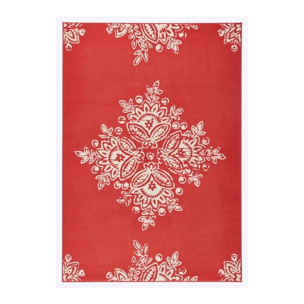 Czerwony dywan Hanse Home Gloria Blossom, 120x170 cm