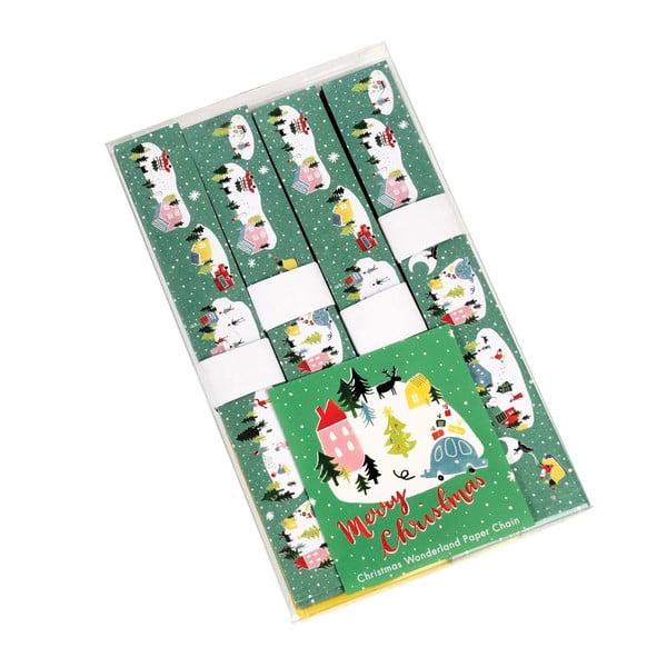 Zestaw do wykonania girlandy papierowej Rex London Christmas Wonderland