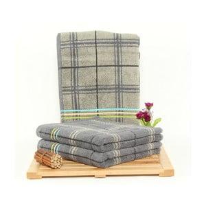 Zestaw 3 ręczników Gordon Stone, 50x100 cm