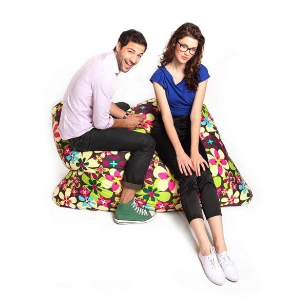 Worek do siedzenia z kwiatowym motywem Tuli Sofa