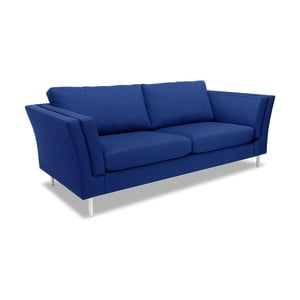 Niebieska sofa dwuosobowa VIVONITA Connor