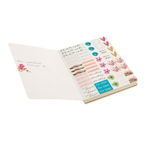 Notatnik z karteczkami samoprzylepnymi Ditsy