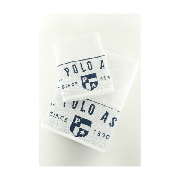 Komplet 2 ręczników U.S. Polo Assn. Royal, 50x90 a 70x140 cm