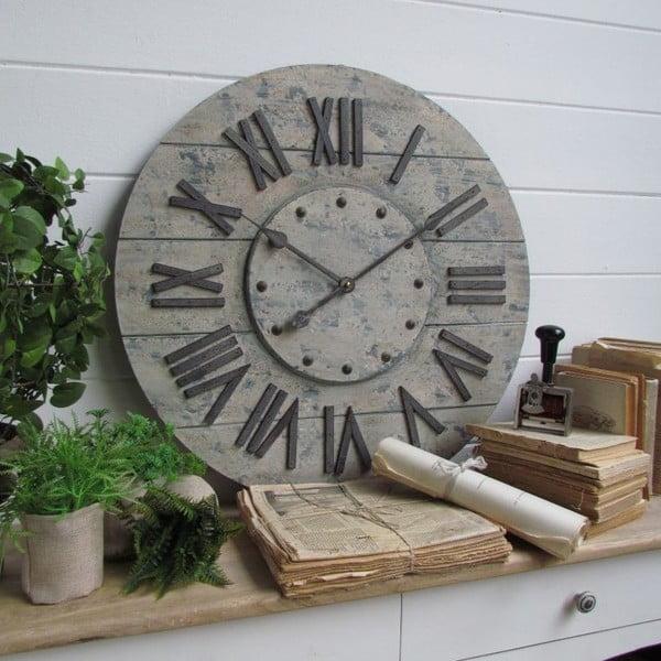 Zegar naścienny Industrial Gray, 63 cm