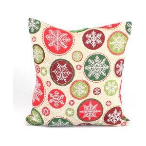 Poszewka na poduszkę Dakls, płatki śniegu