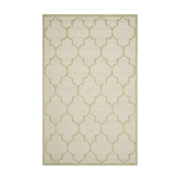 Wełniany dywan Everly Cream, 121x182 cm