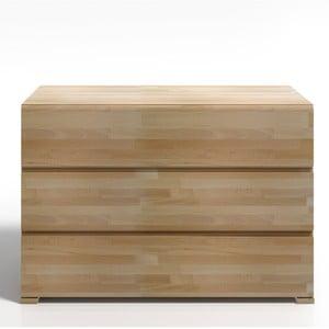 Komoda z drewna bukowego z 3 szufladami SKANDICA Vestre