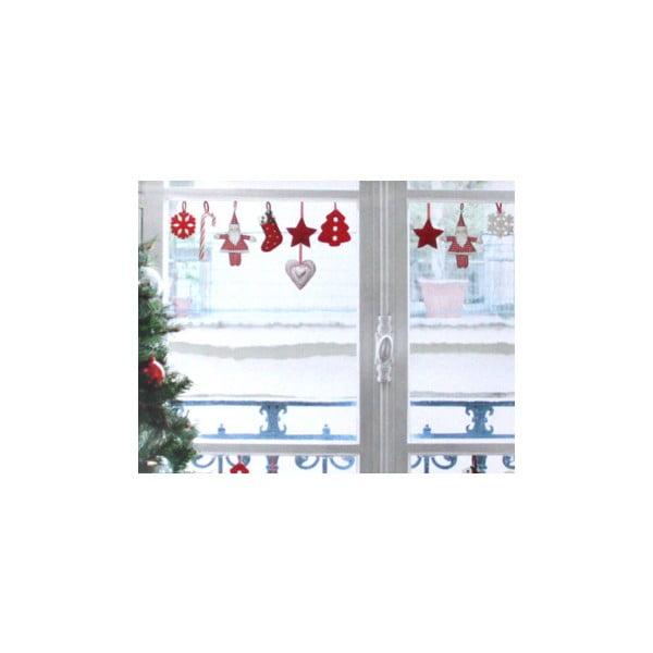 Elektrostatyczna naklejka Świąteczne ozdoby