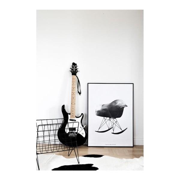 Plakat autorski Rocking Chair, 50x70 cm