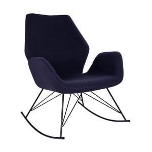 Ciemnoszary fotel bujany House Nordic Nybro