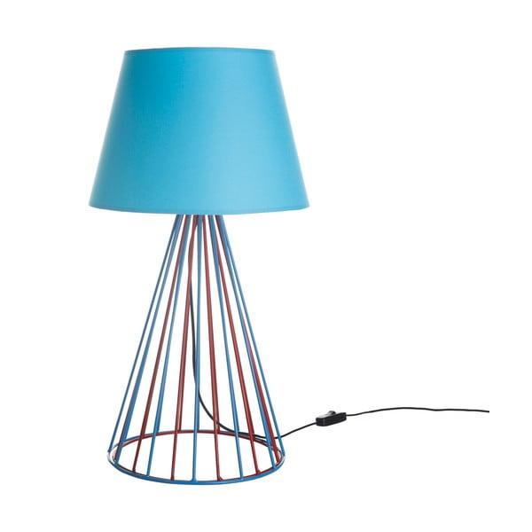 Lampa stołowa Wiry Blue/Red
