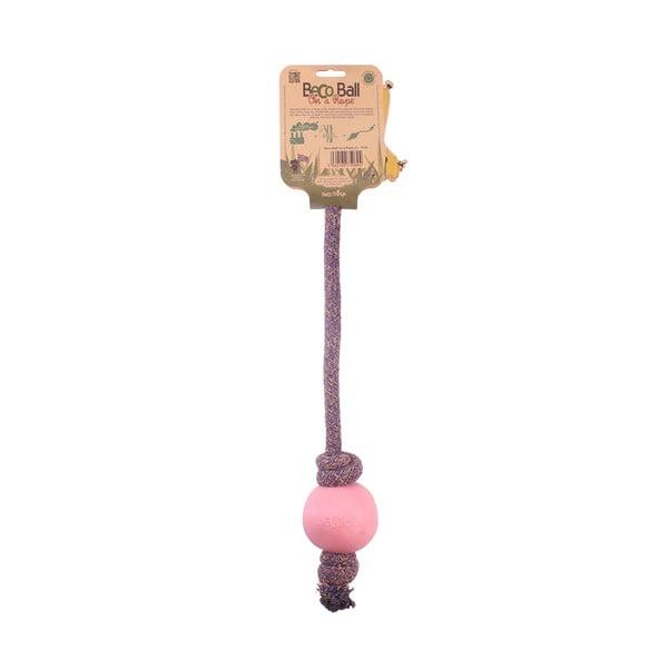 Piłka na linie Beco Rope 45 cm, różowa
