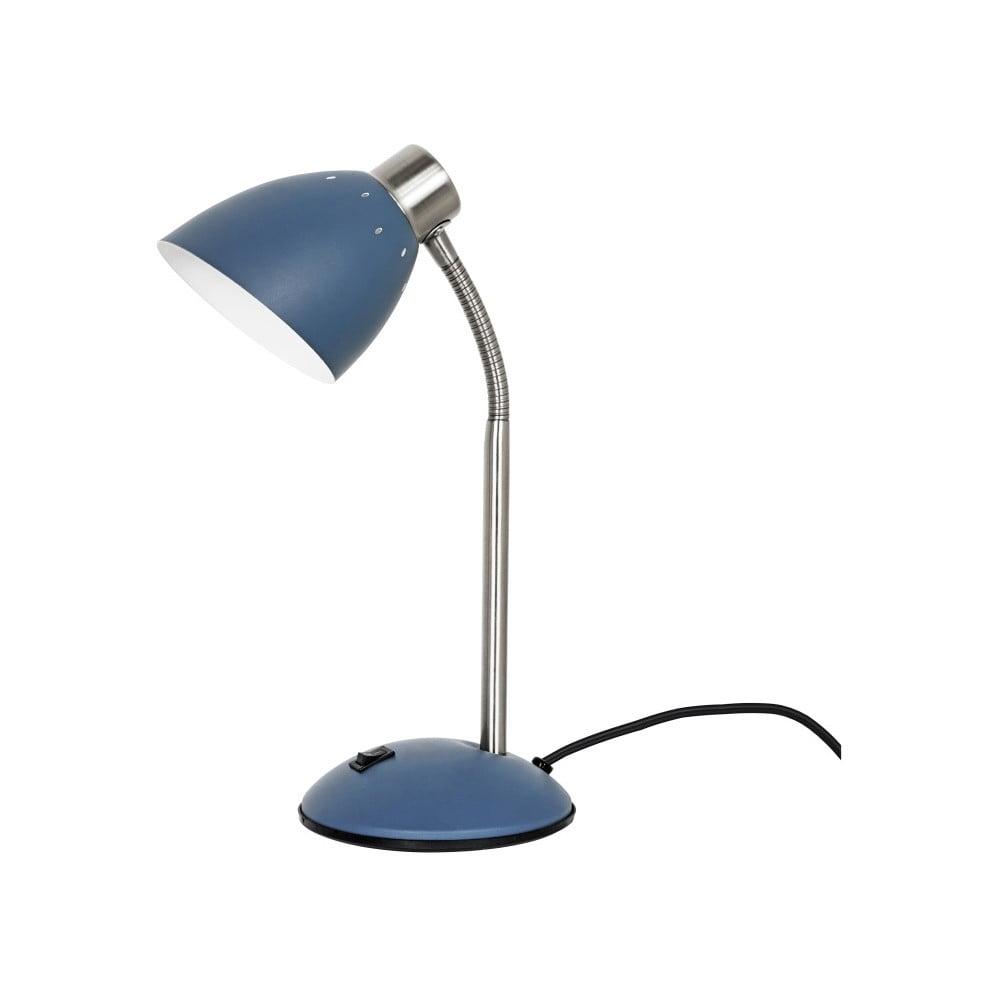 Niebieska lampa stołowa Leitmotiv Dorm