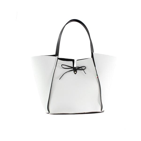 Neoprenowa torebka Fiertes, biała