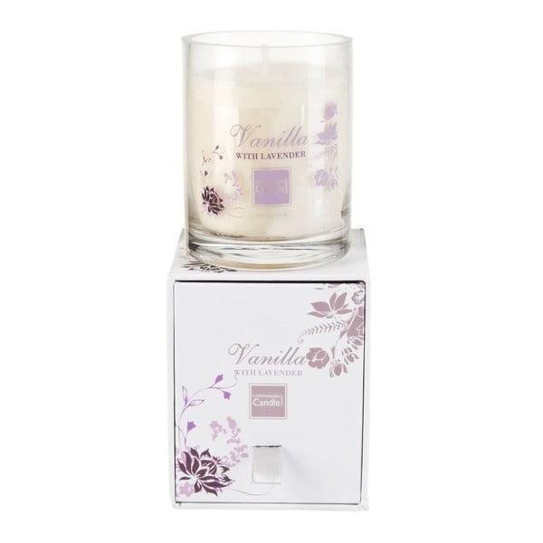 Świeczka zapachowa Vanilla & Lavender Small, czas palenia 40 godzin