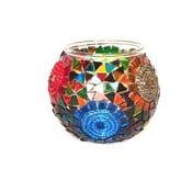 Szklany świecznik Homemania Oriental Sun