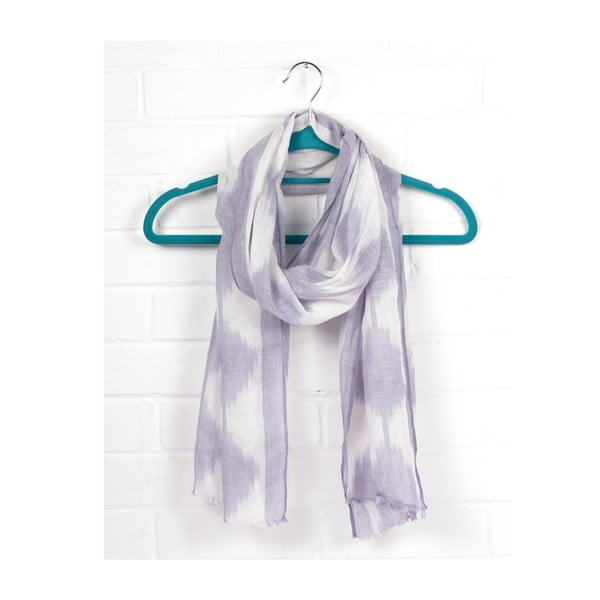 Szal Arrow Ikat Lilac