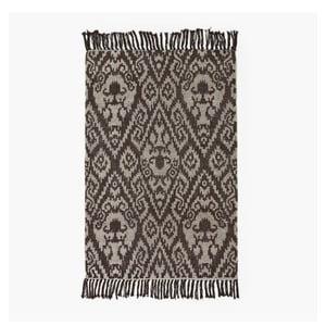 Brązowy dywan Lluvia, 60x90 cm