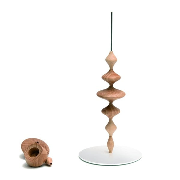 Świecznik Les Perles Wood S