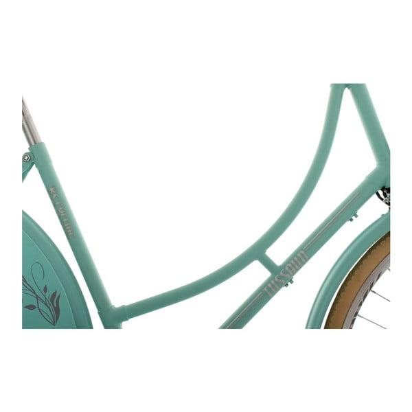 "Rower Tussaud Matt Green Singlespeed 28"", wysokość ramy 54 cm"