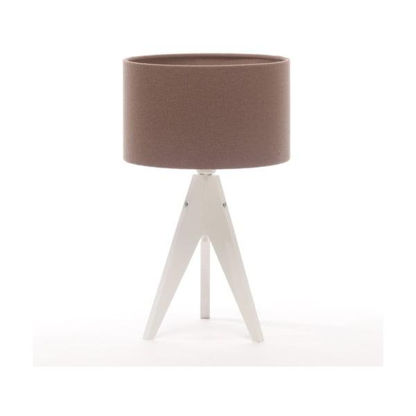Lampa stołowa Artist Cylinder Dark Taupe/White
