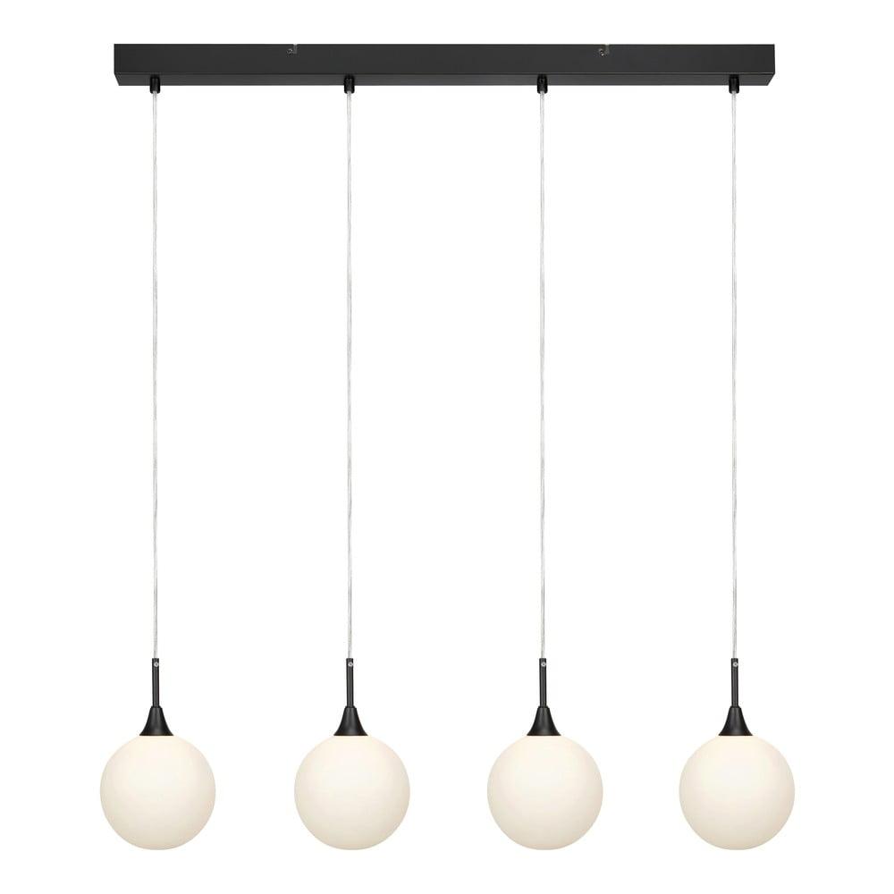 Czarna lampa wisząca Markslöjd Quattro XL Pendant Black