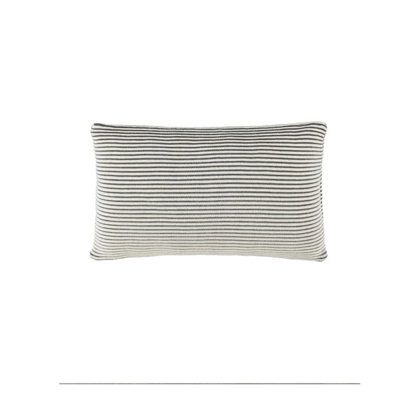 Szara poduszka Marc O'Polo Sigg, 30x50 cm