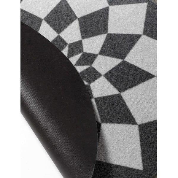 Szary dywan dziecięcy Hanse Home Geometrie, ⌀100cm
