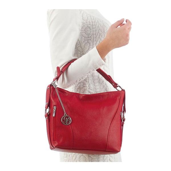 Skórzana torebka Pedro, czerwona