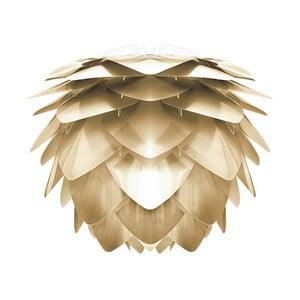 Abażur w złotej barwie VITA Copenhagen Silvia, Ø50cm